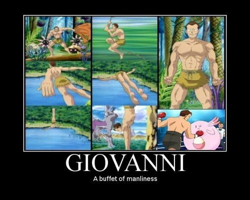 Giovanni Motivational Poster - team-rocket Fan Art