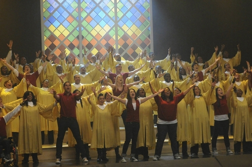 Glee - Episode 1.15 - The Power of Madonna - New Promotional Fotos