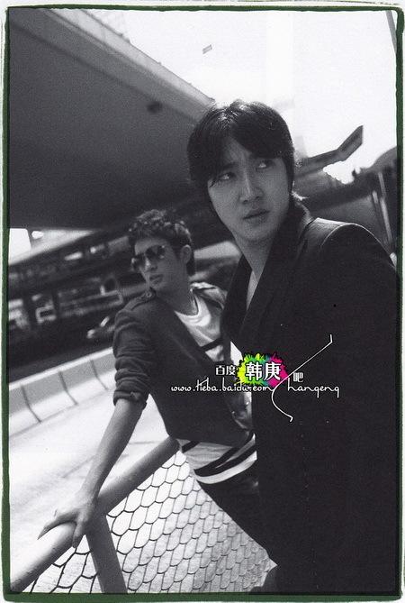 Hankyung Super Junior. Hankyung for Boys In The City