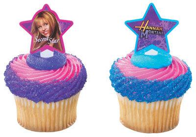 Hannah Montana कपकेक
