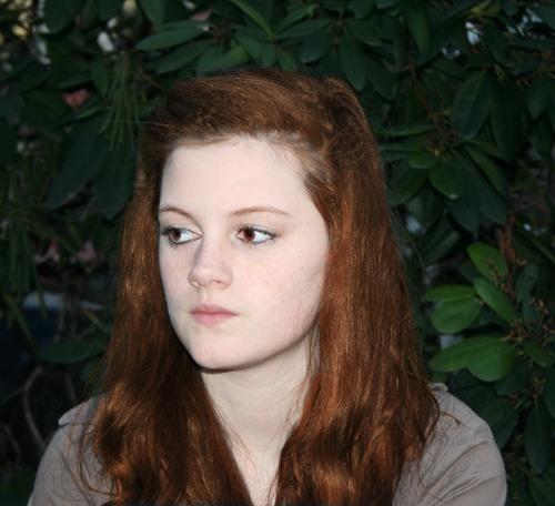 Hanne as Renesmee :D