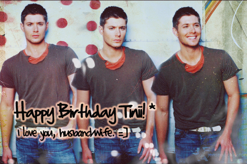 Happy (late) birthday Tinii <33