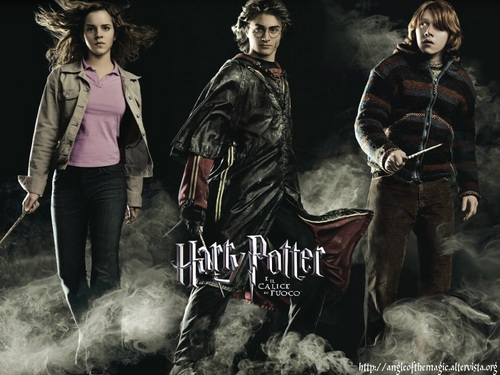 Harry,Ron and Hermione wallpapers