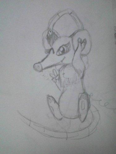 Heather doodle