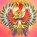 Ho-Oh and trainer