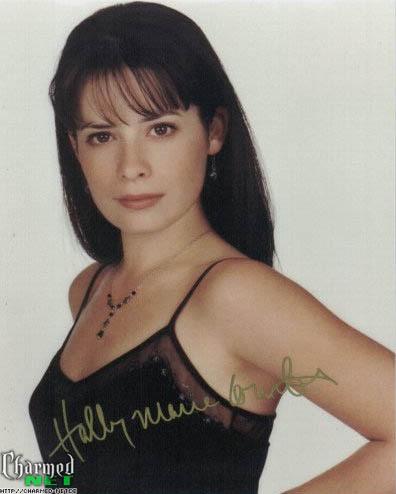 houx Marie Combs autographs