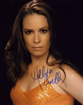 Holly Marie Combs autographs