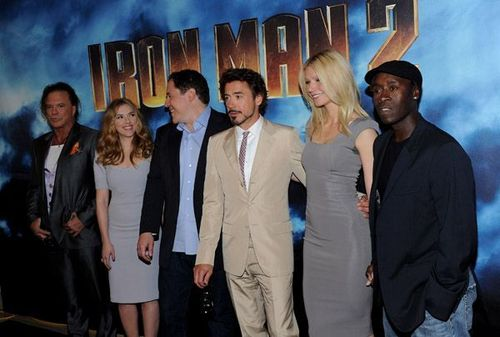 Iron Man 2 Los Angeles चित्र Call - 23rd April
