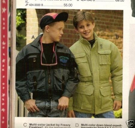 Jensen Ackles as a boy