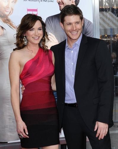 Jensen @ the back up plan premiere