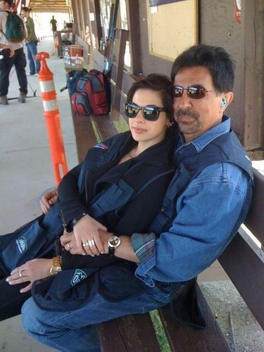 Esprits Criminels fond d'écran entitled Joe and Gia Mantegna
