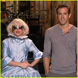Lady GaGa & Ryan Renolds on SNL