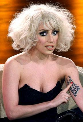 Lady Gaga with no makeup