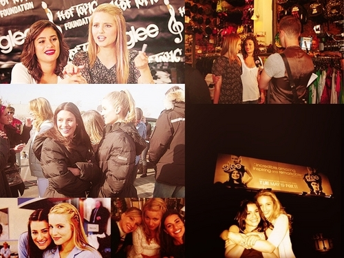 Lea Michele and Dianna Agron wallpaper called Lea and Dianna