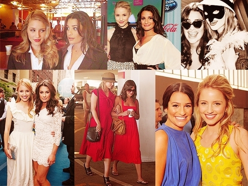 Lea and Dianna