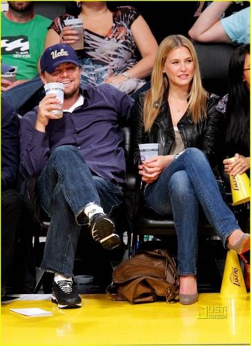 Leo & Bar @ LA Lakers Game