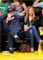Leo & Bar @ LA Lakers Game