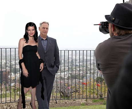 MARK HARMON & PAULEY PERRETTE (GIBBS & ABBY) MARLEY LOVE