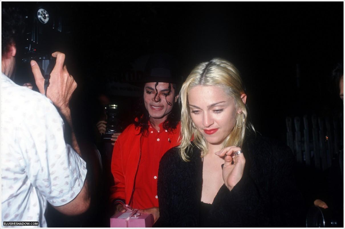 MJ & Madonna at Ivy restaurant