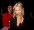MJ & Madonna at Ivy restaurant - michael-jackson photo