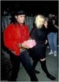 MJ & Madonna at Ivy restaurant - michael-jackson photo