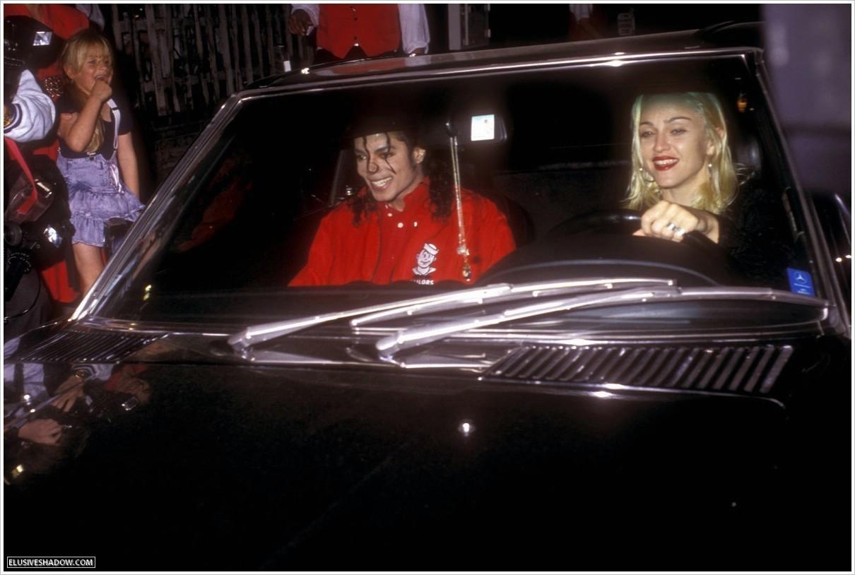 MJ & マドンナ at Ivy restaurant
