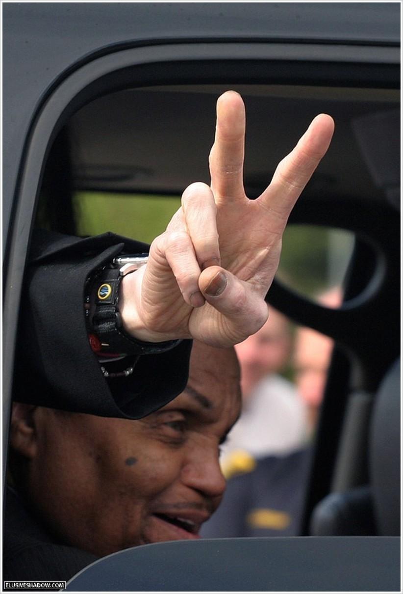 MJ's hand