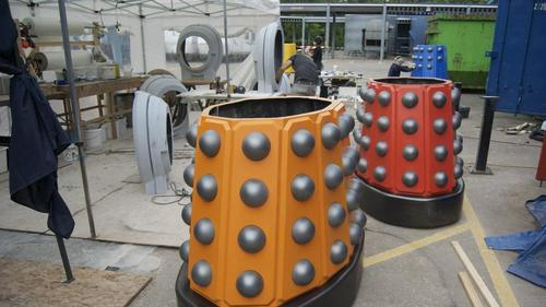 Making the Daleks