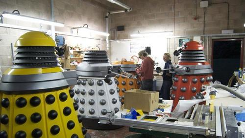 Making the Daleks