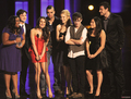 Mark&Lea with Cast