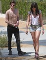 Matt Smith & madeliefje, daisy Lowe at Coachella