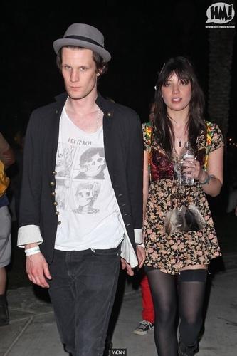 Matt Smith & گلبہار, گل داؤدی Lowe at Coachella