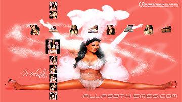 Melina Perez Hintergrund titled Melina