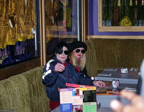 Michael at motown cafe