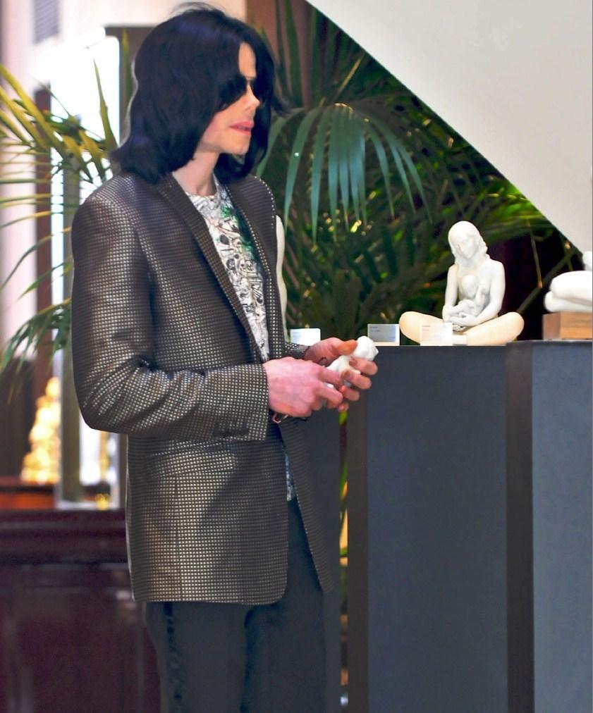 Michael at shopping