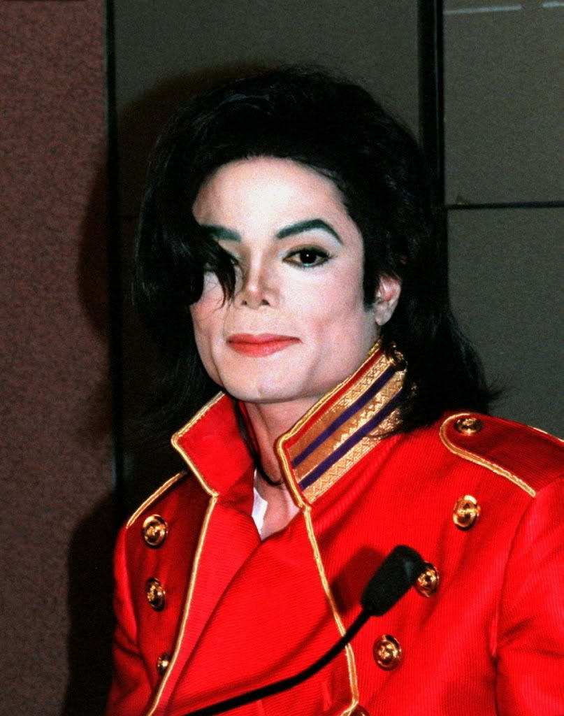 Michael in red