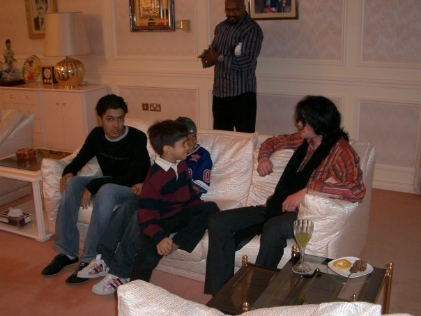 Michael visits Oman 2005