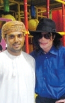Michael visits Oman 2005