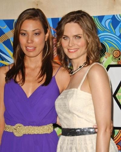 Michaela with Emily