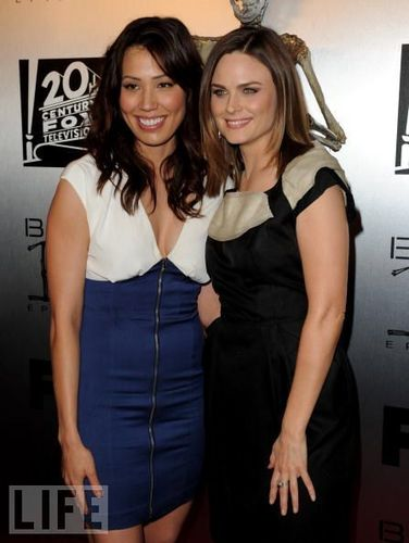 Michaela with Emily.