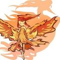 Moltres and trainer - pokemon fan art