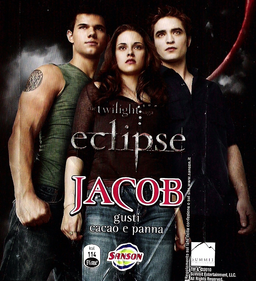 New Edward, Bella and Jacob Eclipse Promo Picture from Sanson Ice Cream