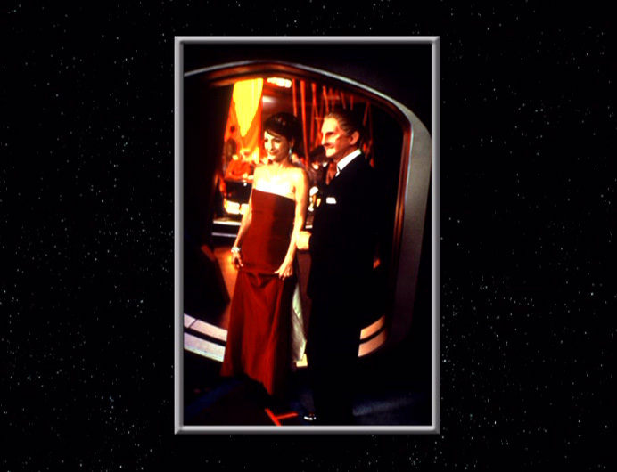 Odo & Kira dressed up