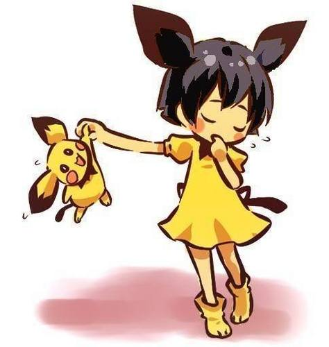 Pichu and trainer