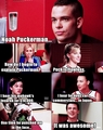 Puckerman // Mean Girls reference