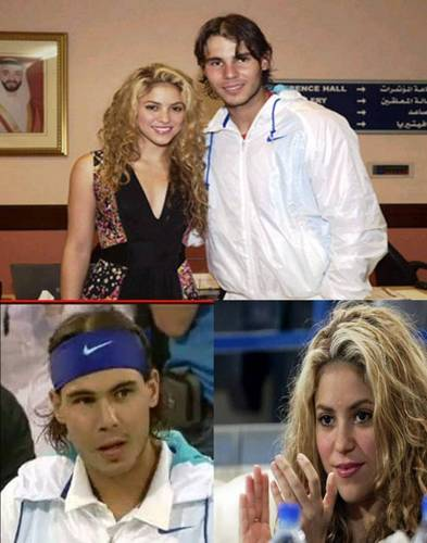 Rafa nervous about meeting with Shakira!