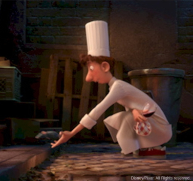Ratatouille- Remy and Linguini