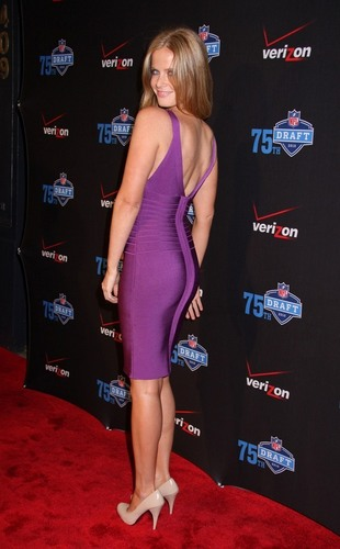 Rebecca Mader- NFL and Verizon 2010 NFL Draft Eve Celebration at Abe & Arthur's on April 21, 2010