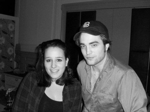 Rob with a fan on April 22nd