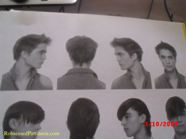 Robert Pattinson's Old Unearthed Hair Modeling!